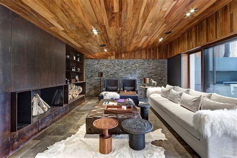 Holzpaneele Decke Abnehmen by Gem 252 Tliches Wohnzimmer Einrichten 34 Ideen Aus Luxusvillen
