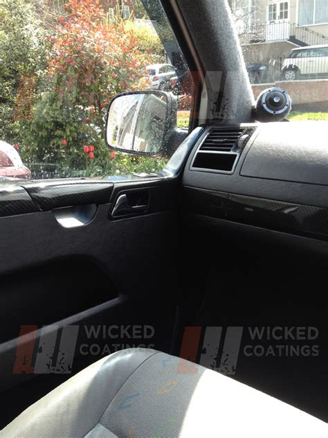 vw custom interior dip dashboards