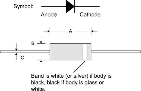 transistor k1317 datasheet diode drawing anode cathode 28 images polarity learn sparkfun led connections anode and