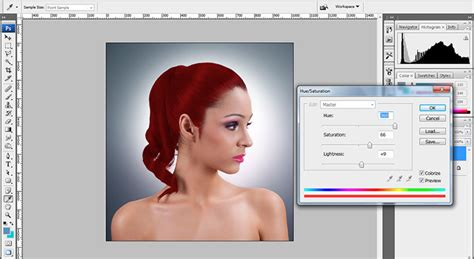 tutorial web content extractor extract hair photoshop cs4 tutorial change hair color