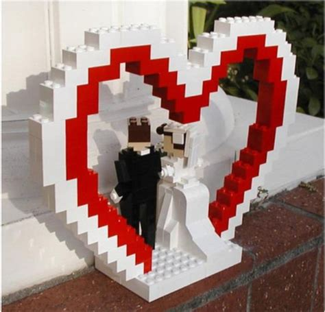 lego cake topper   WEDDINGS   Pinterest