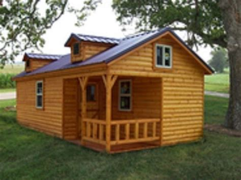 details about amish quality log sided cabin pre built