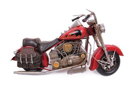 dekoratif metal motosiklet cantali
