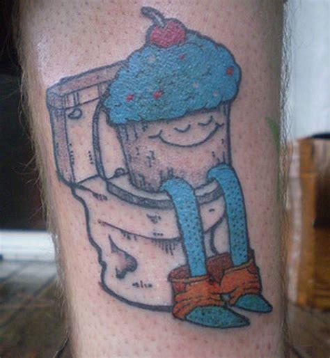 intim tattoo fail bad tattoos 202 really crappy food tat