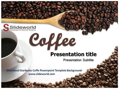 Download Starbucks Coffe Powerpoint Template Authorstream Starbucks Powerpoint Template