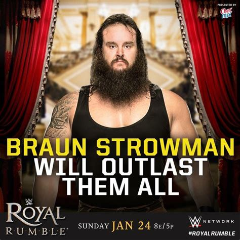Outlasts Them All 2 by Royal Rumble 2016 Braun Strowman Will Outlast Them
