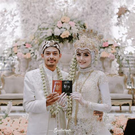 Gaun Pengantin Putih Krem 12 desain gaun pernikahan muslimah elegan nan sederhana