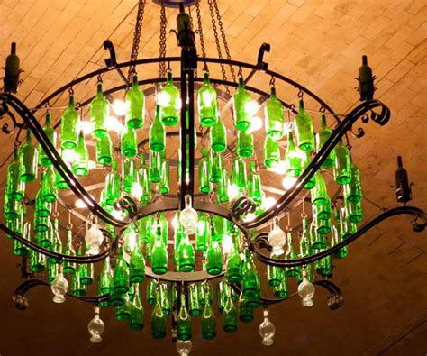 Creative Chandelier Ideas 25 Creative Wine Bottle Chandelier Ideas Hative