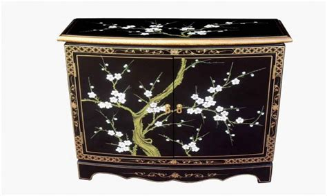 japanese black lacquer cabinet paint lacquer furniture