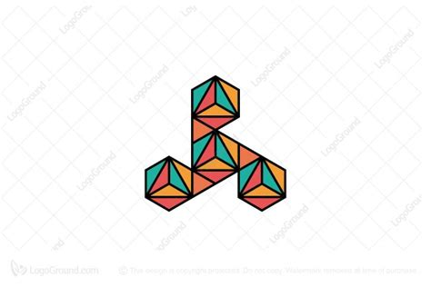 triangle pattern in php triangle pattern logo