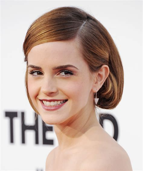 slicked behind the ear hair styels faux bob hairstyles celebrity hair pictures popsugar