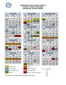 2017 miami dade school calendar calendar 2017