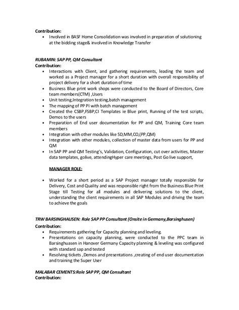 Cvkiran Sap Knowledge Transfer Plan Template