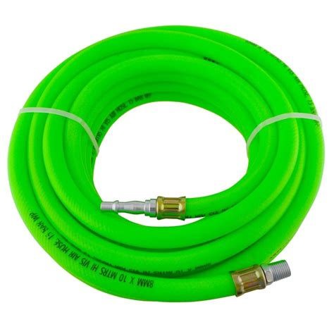 airline air hose high vis soft rubber 8mm 10m 33ft compressor hose bergen at875 ebay