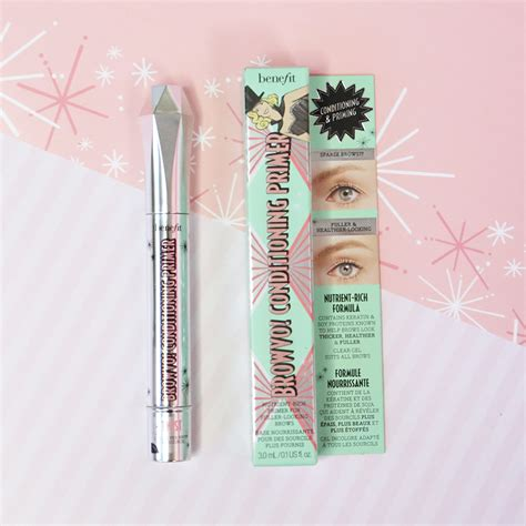 Benefit Browvo Brow Conditioning Primer brow spotlight browvo conditioning eyebrow primer