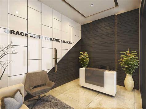 photo lobby kantor notaris bekasi  desain arsitek oleh jr