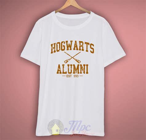 T Shirt Kaos Hogwarts Alumni harry potter hogwarts alumni t shirt mpcteehouse 80s tees