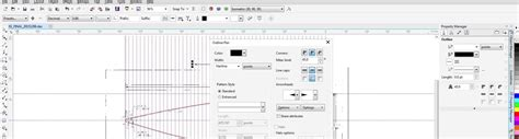 line thickness coreldraw x7 bug designer x7 pen color line line ends showing