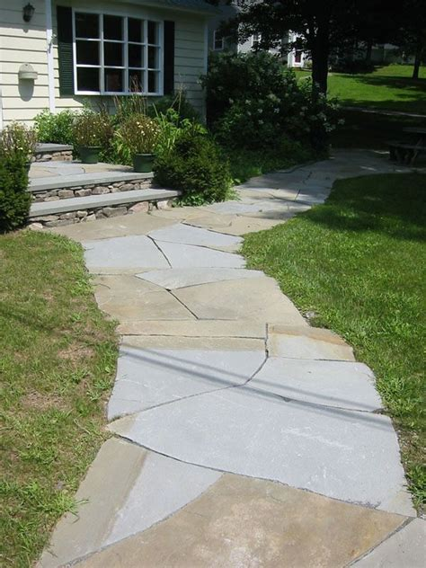 Design Ideas For Flagstone Walkways 21 Best Images About Flagstone Paths Walkways On Pinterest Flagstone Walkways And