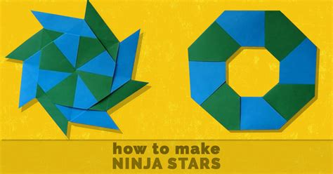 How To Make A Paper Ninga - cool origami projects comot