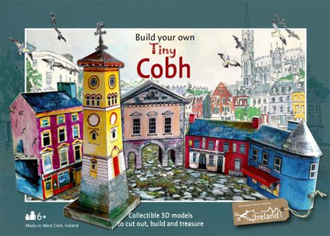 Paper Craft Supplies Ireland - cobh tiny ireland model kit crafts crafts made