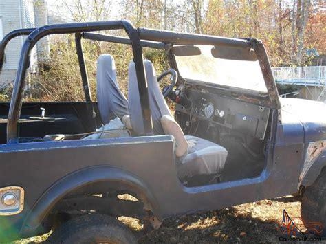Jeep Yj Tub 1979 Jeep Cj7 With Yj Wrangler Tub Project Or Parts Cj