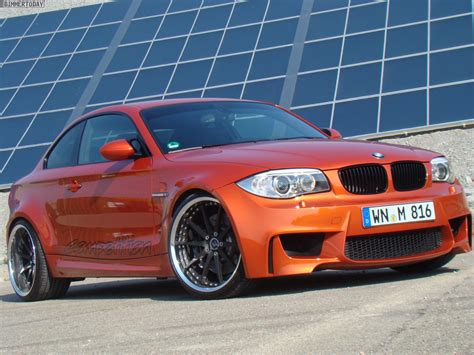 Bmw Orange by Orange Competition Bmw 1er M Coup 233 E82 Tvw Car Design