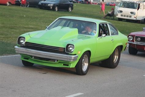 chevy vega green chevy vega with 454 autos post