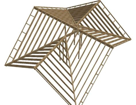a frame roof design hybrid roof frame design trusses and sticks framing