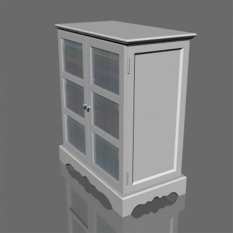 3d bathroom towel cabinet