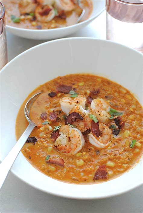 Shrimp And Corn Chowder by Smoky Corn Chowder With Shrimp Bev Cooks