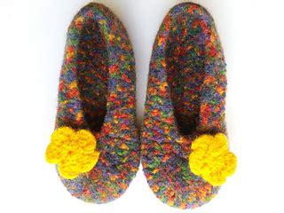 Kapi Slipper ravelry crocheted felted slippers us 6 10 pattern by karin pichler designs