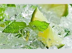 Ice Mint Leaves 4K HD Desktop Wallpaper for 4K Ultra HD TV ... Mint Leaves Wallpaper