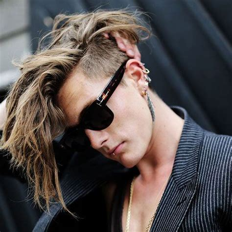 mohawk hairstyles ll eaving hair long at back of head 55 edgy or sleek mohawk hairstyles for men men