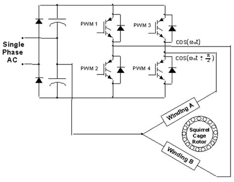 calculate capacitor size single phase motor plcs net interactive q a variable speed ac motors