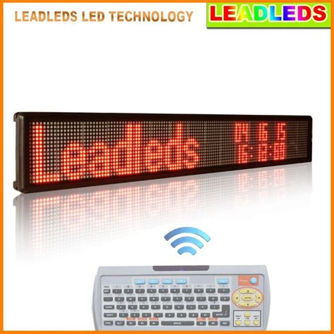 Led Display Board led partition display two lines running text advertising led display board with keyboard usb