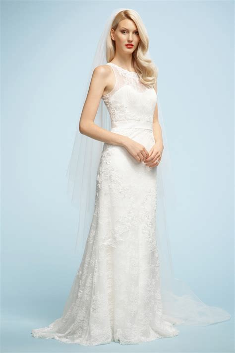 Top 10 2013 Wedding Dress style   illusion neckline 2