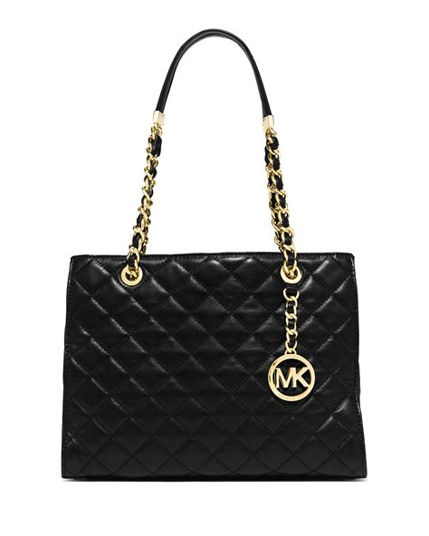 Michael Kors Quilted Handbags by Michael Michael Kors Susannah Medium Quilted Tote Bag In