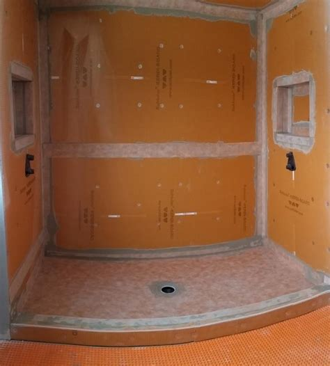schluter shower system bathroom tile aspire contracting