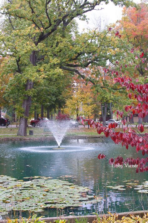 Fall in Central Park, Ashland, KY   Ashland, KY Art