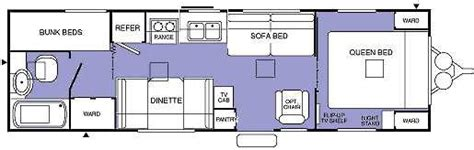 terry travel trailer floor plans here s one from a trip to orlando fl from dec 97 but it s a little dark