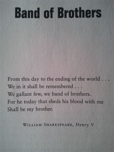 Shakespeare Quotes About Brothers