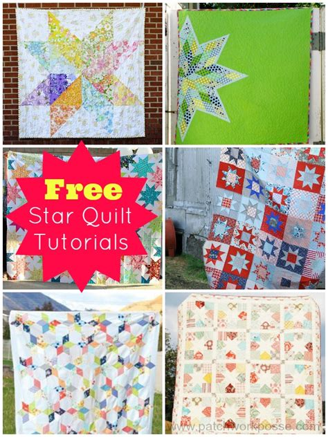 Patchwork Tutorials Free - free quilts tutorials and patterns