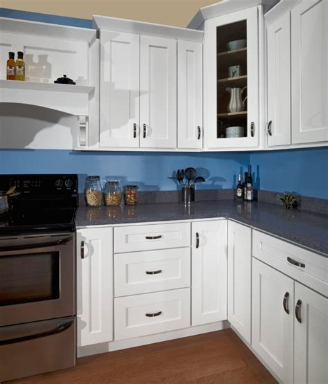 White Shaker Kitchen Cabinets by White Shaker Kitchen Cabinet Depot