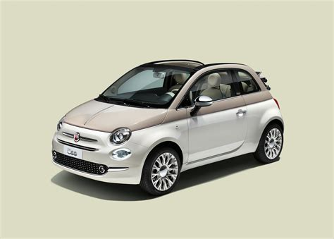 fiat launches limited edition 500 60th to celebrate 60th