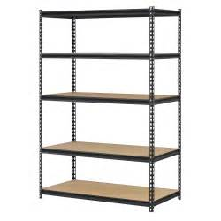 commercial industrial steel 5 tier shelving work bench