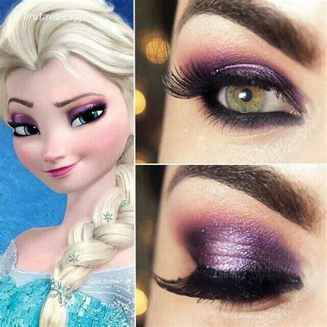 queen elsa makeup tutorial inspired by disneys frozen clothes hair makeup