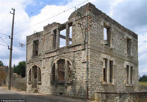 abandoned towns oradour sur glane to romagnano al monte haunting images
