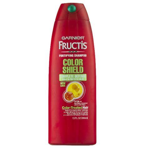garnier fructis color shield garnier fructis color shield shoo 1 42 en walmart
