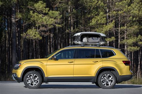 volkswagen atlas vw atlas weekend edition concept coming to chicago auto